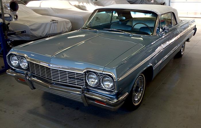 1964 chevy impala convertible for sale whitelaw enterprises. Black Bedroom Furniture Sets. Home Design Ideas